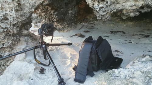 Burns Beach cave